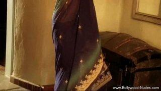 Bollywood desi woman smiles